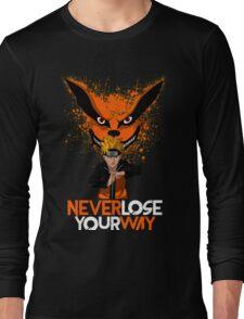 NARUTO x KURAMA Long Sleeve T-Shirt