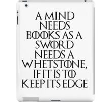 Tyrion Lannister - quote iPad Case/Skin