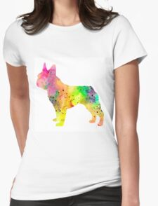 French Bulldog 6 Womens Fitted T-Shirt