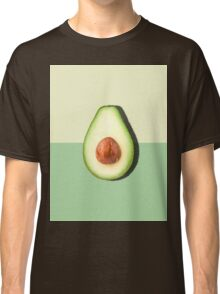Avocado Half Slice Tropical Fruit Classic T-Shirt