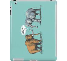 Mammoth and Elephant iPad Case/Skin