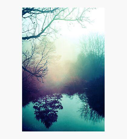 Autumn Fog  Photographic Print