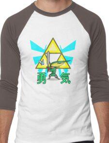 The Hero in Green Men's Baseball ¾ T-Shirt