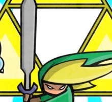 The Hero in Green Sticker