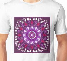 Dot Painting trifft Mandala Unisex T-Shirt