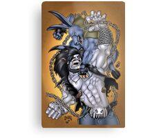 Salty Roo vs. Lobo Metal Print
