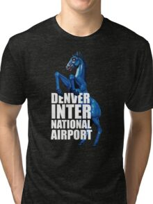 Denver International Airport Tri-blend T-Shirt