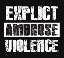 Dean Ambrose Shirt by Dominique Paige