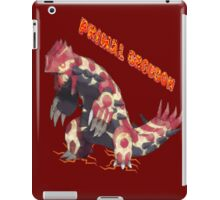 Primal Groudon (Pokemon Omega Ruby) iPad Case/Skin