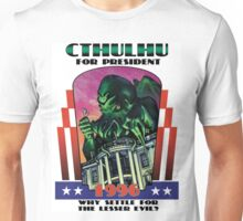 Retro CTHULHU FOR PRESIDENT 1996 Campaign Unisex T-Shirt