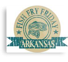 ARKANSAS FISH FRY Metal Print