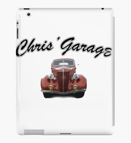 Chris' Garage iPad Case/Skin