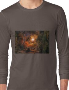 All is calm, all is bright... Long Sleeve T-Shirt