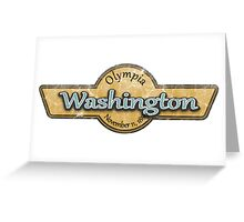Washington State Logo Greeting Card