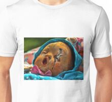 Spoiled Cheese Baby doll with Scar Unisex T-Shirt