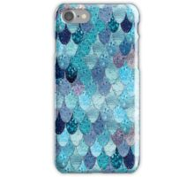 SUMMER MERMAID DARK TEAL by Monika Strigel iPhone Case/Skin