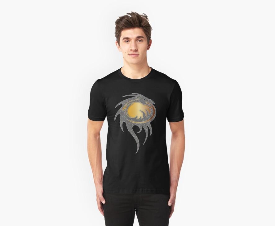 Fantasy Dragon T-shirt design by patjila