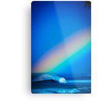 Surf Rainbow Metal Print