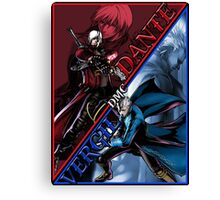 DMC TWINS Canvas Print