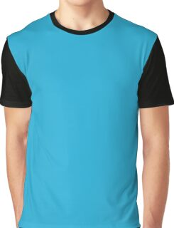 Battery Charged Blue Graphic T-Shirt