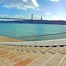 view from the rooftop. maat . museum. tejo river. lisbon by terezadelpilar ~ art & architecture