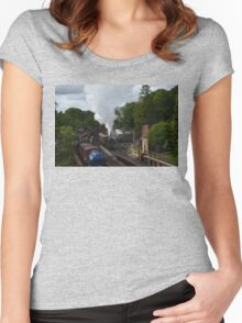 Steam Train Women's Fitted Scoop T-Shirt