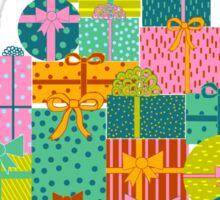 Present Christmas Tree Sticker