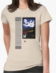 Nes Cartridge: Pokemon Alpha Sapphire Womens Fitted T-Shirt