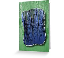 Nature Abstract Greeting Card