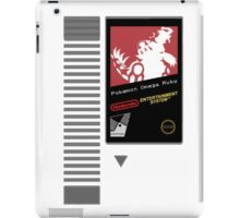 Nes Cartridge: Pokémon Omega Ruby iPad Case/Skin