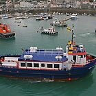 Sark Venture, St Peter Port Harbour by RedHillDigital