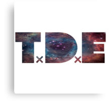TDE Nebulae 2 Canvas Print