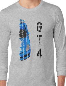 Porsche cayman GT4 (light blue) Long Sleeve T-Shirt