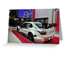Citroen C4 Touring Car Greeting Card