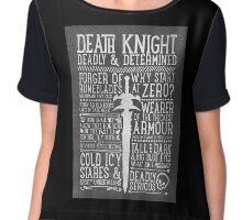 Death Knight Chiffon Top