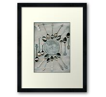 Spoon Collection Framed Print