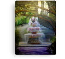 Sounds of Tranquility - Airlie Gardens Canvas Print