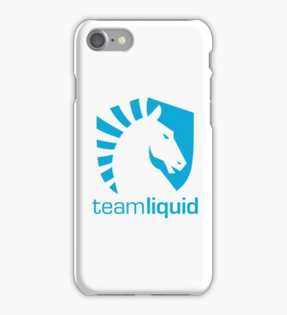 team liquid iPhone Case/Skin