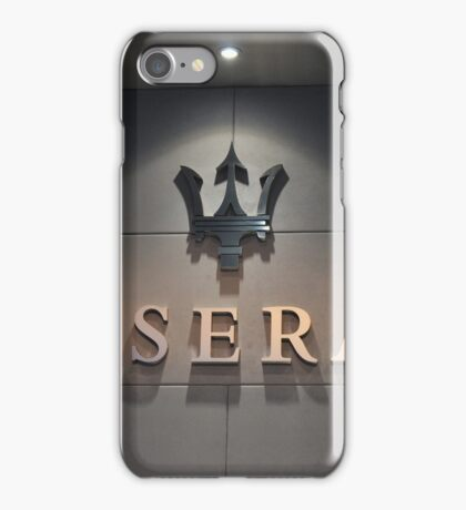 Maserati iPhone Case/Skin