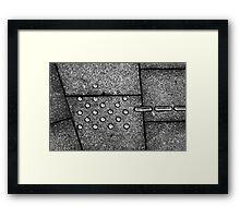 Dot on... Framed Print