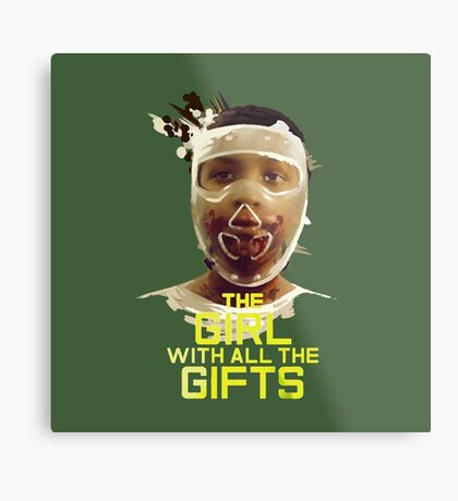 The girl of all the gifts Metal Print