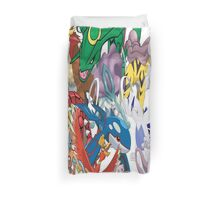 Legendary Pokemon Bed Duvet! Queen Size (Check Other work for other sizes!) Duvet Cover
