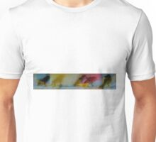 Abstract Birds on a Wire  Unisex T-Shirt