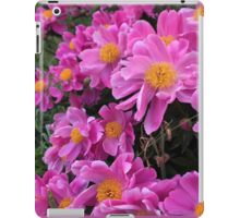 Pink Flowers iPad Case/Skin