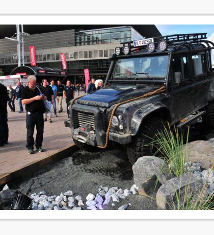 Spectre James Bond Land Rover Defender Sticker