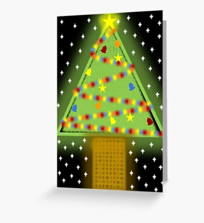 Xmas Tree 2016 (1) Greeting Card