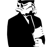 Classy Stormtrooper by monsterdesign