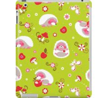 Cute Hedgehog Baby Print iPad Case/Skin