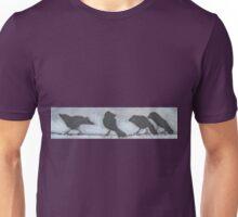 Unique Birds on a Wire  Unisex T-Shirt