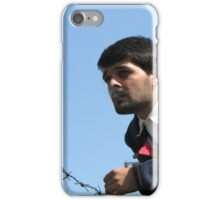 Talk Over Thorny Wire iPhone Case/Skin